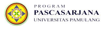 PROGRAM PASCASARJANA UNIVERSITAS PAMULANG